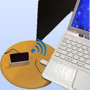 WiMAX2+クレードル無線接続