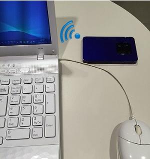 WiMAX2+無線LAN接続